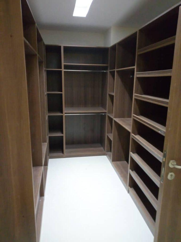 Walk in closet manufacturer in Nigeria